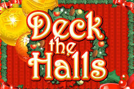 Deck the Halls slot game logo
