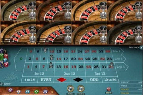 Play Multi-Wheel European Roulette Gold Series slot