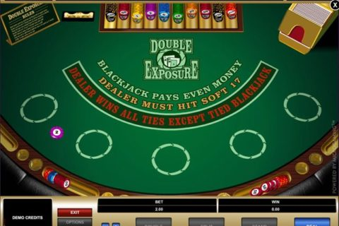 Play Double Exposure Online BlackJack slot