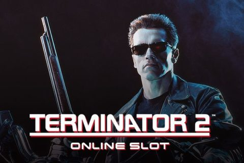 Terminator 2 slot game logo