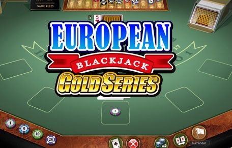 Play European Online BlackJack Gold Series slot