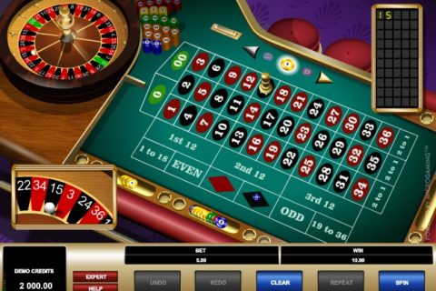 AMERICAN ROULETTE MICROGAMING (Online Pokie) (Microgaming) Logo