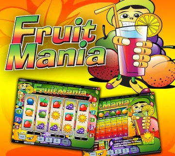 Fruit Mania (Online Pokie) (Playtech) Logo