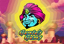 Genie's Gems (Online Pokie) (Microgaming) Logo