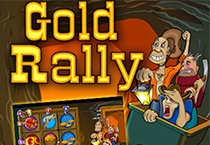 Gold Rally (Online Pokie) (Playtech) Logo