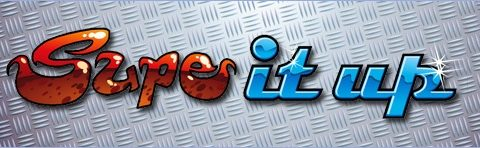 Supe It Up (Online Pokie) (Microgaming) Logo