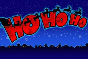 Ho Ho Ho slot game logo