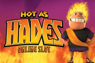 Hot as Hades slot game logo