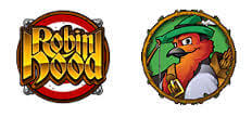 Robin Hood – Feathers of Fortune (Online Pokie) (Microgaming) Logo