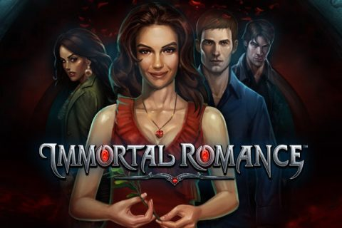 Immortal Romance slot game logo