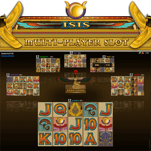 Isis Multiplayer (Online Pokie) (Microgaming) Logo