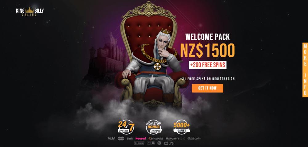 king billy new bonus