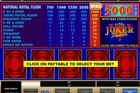 Play Joker Poker slot