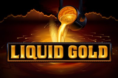 Liquid Gold (Online Pokie) (Microgaming) Logo