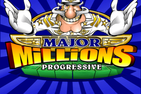 Major Millions slot game logo