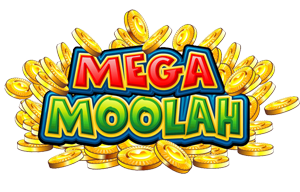 Mega Moolah slot game logo