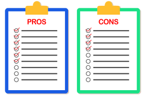 Pros and cons image