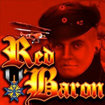 Red Baron (Online Pokie) (Aristocrat) Logo