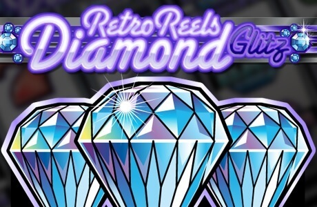 Retro Reels – Diamond Glitz (Online Pokie) (Microgaming) Logo