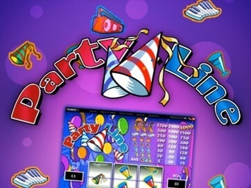 Party Line (Online Pokie) (Playtech) Logo