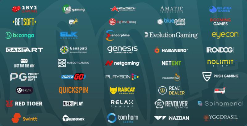 Booi casino software providers