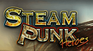 Steam Punk Heroes (Online Pokie) (Microgaming) Logo
