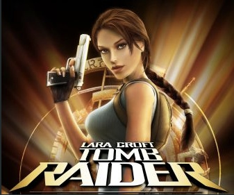 Tomb Raider slot game logo