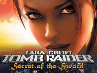 Tomb Raider II slot game logo