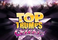 Top Trumps Celebs (Online Pokie) (Playtech) Logo
