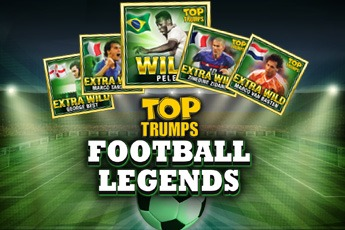 Top Trumps Football Legends (Online Pokie) (Playtech) Logo