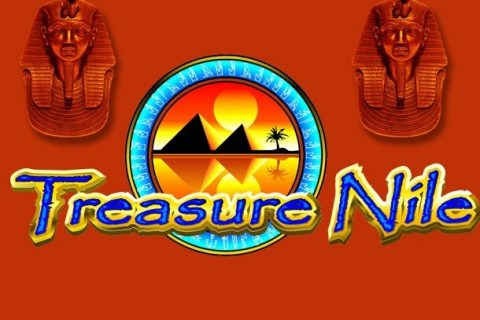 Treasure Nile (Online Pokie) (Microgaming) Logo