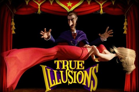 True Illusions (Online Pokie) (BetSoft) Logo