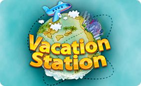 Vacation Station (Online Pokie) (Playtech) Logo