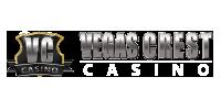 Vegas Crest Casino: 100% $2,500 + 100 Free Spins