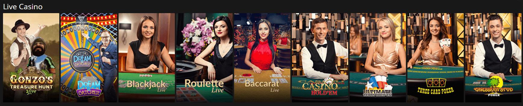 vegas baby Live Casino