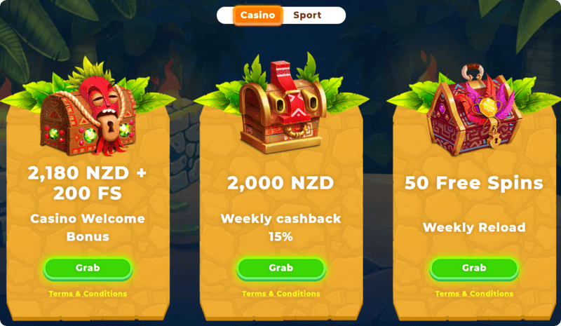 wazamba promotions