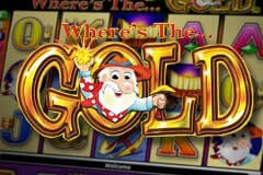 Where's The Gold (Online Pokie) (Aristocrat) Logo