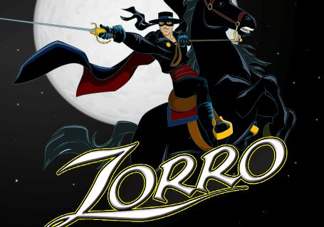 Zorro (Online Pokie) (Aristocrat) Logo